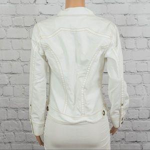 CAbi Jackets & Coats - Cabi white jean jacket